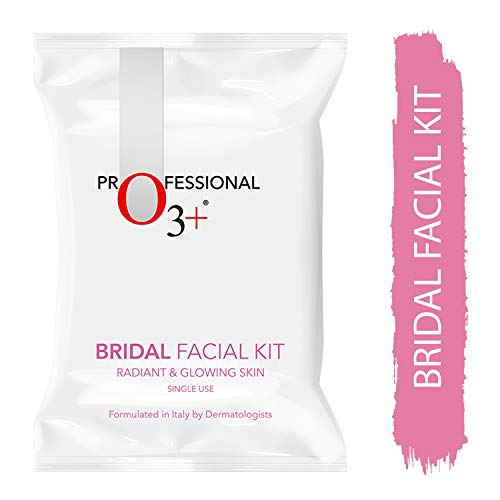 O3+ Bridal Facial Kit for Radiant & Glowing Skin - Suitable for All Skin Types (120g, Single Use)