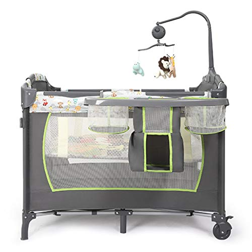 Big Save! Rocking Chair Portable Bassinet Baby Side Sleeper Bedside Bed Easy Folding 3 Height Adjust...