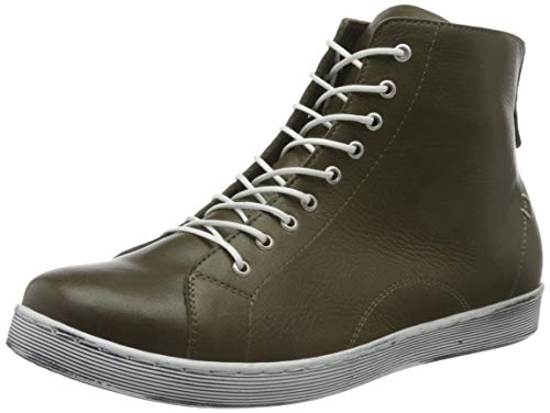 Andrea Conti 0341500, Zapatillas Altas Mujer, Barro Verde 103, 41 EU