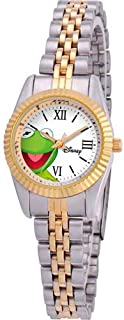 Disney Women's W000579 Kermit The Frog Two-Tone Status Watch