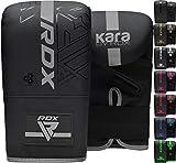 RDX Guantes de Boxeo para Entrenamiento Puñetazos, Maya Hide Cuero Kara Mitones para Saco Boxeo, Kick Boxing, Sparring, Muay Thai, Artes Marciales, MMA, Guantillas para Combate Training, Manoplas