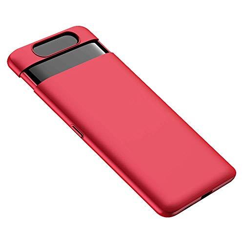 AILRINNI Cover per Samsung A80 Custodia Trasparente Morbida in Silicone Protettivo TPU Gel Sottile Cover per Samsung Galaxy A80//A90 2019 Pellicola Protettiva in Vetro Temperato