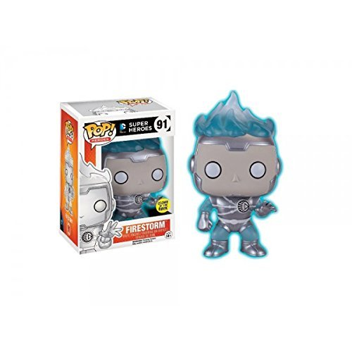 POP Funko Heroes: 2016 SDCC Exclusive Firestorm White Lantern Glow in The Dark by