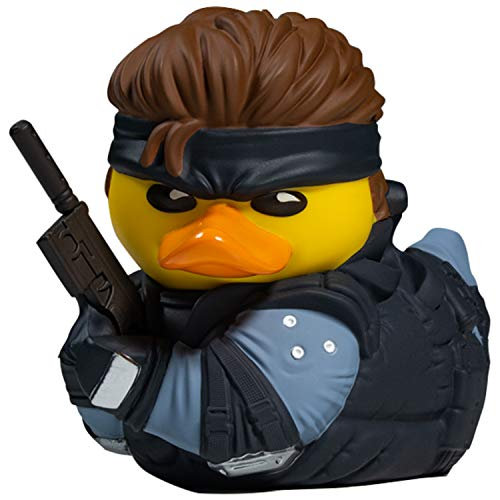 TUBBZ Metal Gear Solid Snake Collectible Duck Figurita – Official...