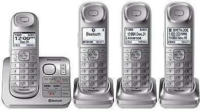 Panasonic 4 Headset Talking Caller ID English & Spanish -KX-TG674SK