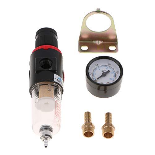 Universal Luftdruckregler Messgerät Werkzeug Kupferfilter zur Öl- und Wasserfiltration