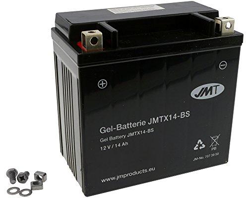 Batterie JMT GEL - YTX14-BS 12 Volt [ inkl.7.50 EUR Batteriepfand ]