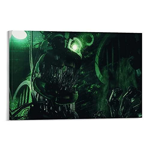 Sewer Monster1 Poster decorativo su tela da parete per soggiorno, camera da letto, 40 x 60 cm