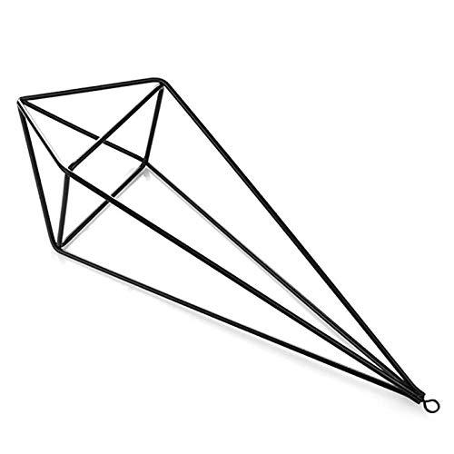 YHNJI Himmeli geometrischer Pflanzen-Halter aus Metall, für Luftpflanzen, Hängepflanzen, für Zuhause, Büro, Hochzeit, Wandakzent, Dekoration, 3 Stück