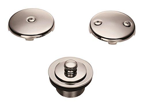 Danze D490637BN Lift and Turn Tub Drain Conversion Kit, Brushed Nickel