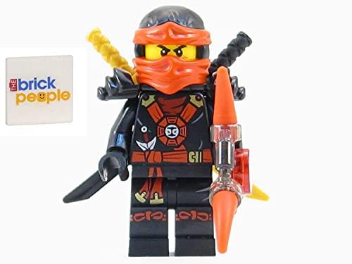 LEGO Ninjago: Deepstone Kai Ninja Minifigure Red Aeroblade Swords