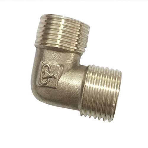 hrverbindungsstücke Wasser L Typ Winkelbogenguss BSP 1/2 Zoll ßengewinde Messing