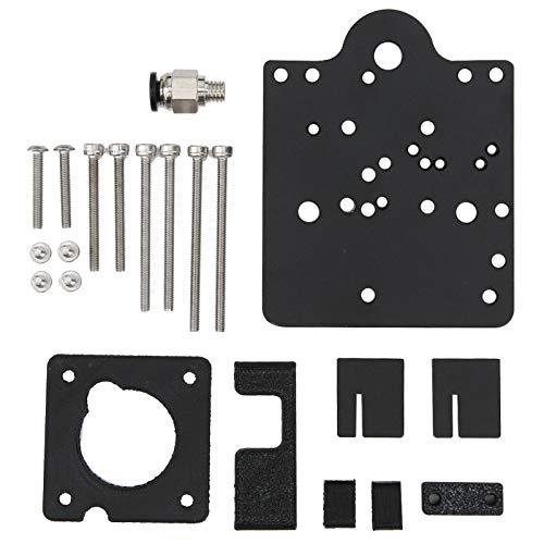 Extrusora de accionamiento directo Accesorios de impresora 3D Mecanizado CNC 6063 Kit de conversión de extrusora de accionamiento directo de aluminio Kit de conversión de extrusora para
