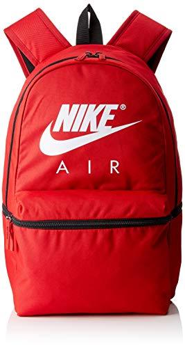 Nike Unisex-Erwachsene NK AIR BKPK Rucksack, Mehrfarbig (Gym Red/Black/White), 15x24x45 centimeters