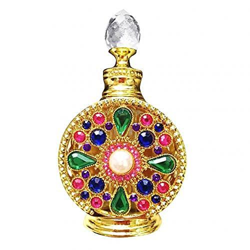 YUNHOME Botella De Perfume Vacía Perfume Recargable Frascos para Perfume 15Ml Coche Esencial Aceite Perfume Vacío Vidrio Botella Colgante Ornamento Decoración-10Ml