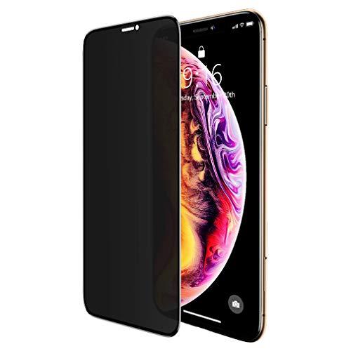 """BENKS Pellicola Protettiva Anti-Spy Compatibile con iPhone 11 PRO Max/XS Max 6.5"""", Privacy Pellicola Vetro Temperato, Anti Graffio, Anti-Impronte, Durezza 9H, Strumento di Installazione Facile"""
