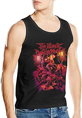 The Black Dahlia Murder - Camiseta sin mangas para hombre, diseño de música y gráficos, Negro, 3XL