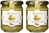 2 Vasetti - Crema di Pistacchio con il 40% di pistacchi di Sicilia, ideale per la colazione, ma soprattutto per farcire dolci  - 2x190g