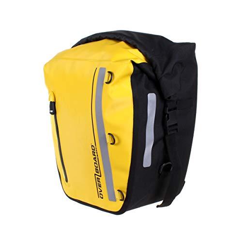 OverBoard Waterproof Classic Pannier, Yellow, 17-Liter
