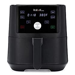 Image of Instant Vortex 4-in-1 Air Fryer, 6 Quart, 4 One-Touch Programs, Air Fry, Roast, Bake, Reheat: Bestviewsreviews
