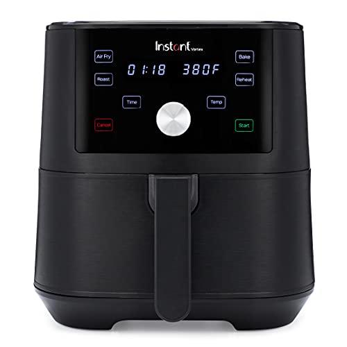 Instant Pot Vortex 4-in-1 Air Fryer, 6 Quart, 4 One-Touch Programs, Air Fry, Roast, Bake, Reheat
