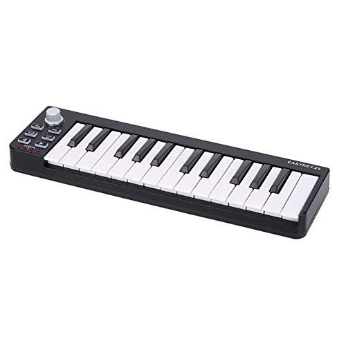 25 Portable Keyboard Mini 25-Key USB MIDI Controller Ideal for Beginners Xmas