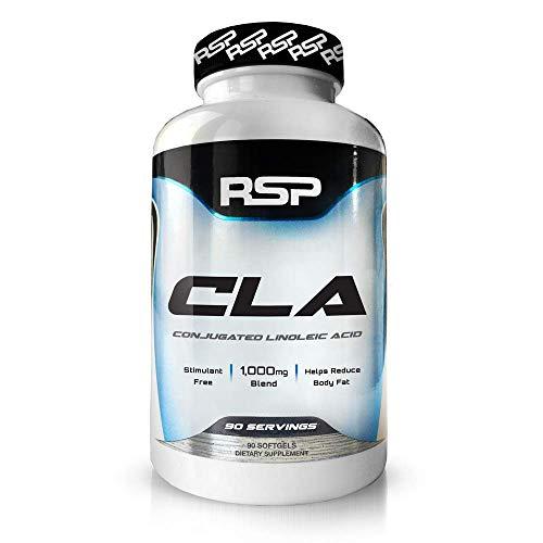 RSP Nutrition CLA: Conjugated Linoleic Acid Softgels, Stimulant Free Fat Burner, Weight Management, 90 Count