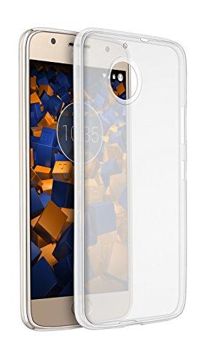 mumbi Hülle kompatibel mit Motorola Moto G5S Plus Handy Hülle Handyhülle dünn, transparent G5S Plus Ultra Slim Motorola Moto G5S Plus
