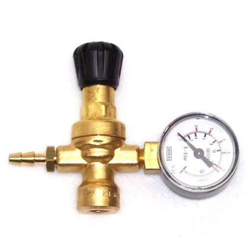 Micro Druckminderer 51611 für Einwegflasche Argon Co2 Schutzgas Schweißgas AWZ