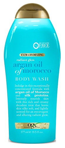 Ogx Beauty Radiant Glow Argan Oil Of Morocco Body Wash Now $2.61