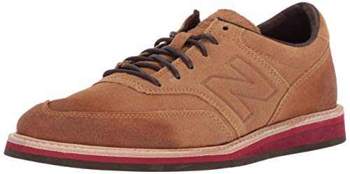 Brown Leather New Balance Tennis Shoes for Men
