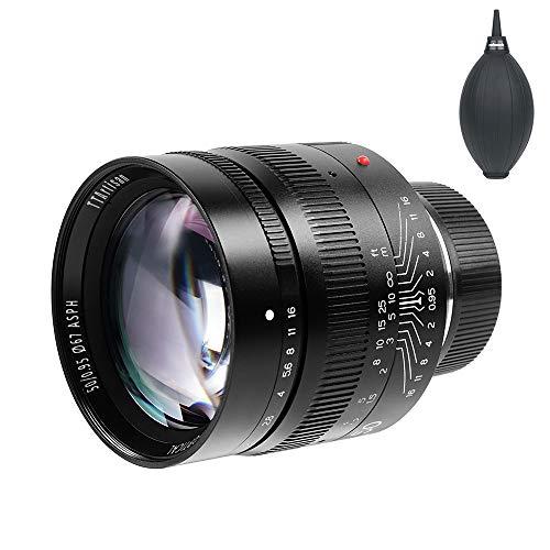 銘匠光学 TTArtisan 50mm F0.95 単焦点レンズ 大口径 フルフレーム 8群11枚 Leica Mマウント Leica M-M/M240/M3/M6/M7/M8/M9/M9p/M10などに対応 Pergearブロアー同梱