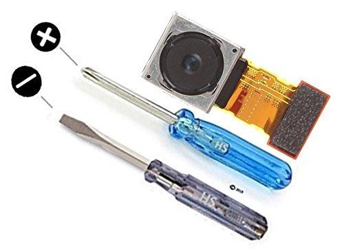 MMOBIEL Camera Posteriore Back Camera Compatibile con Sony Xperia Z3 / Z3 Compact Parte di Ricambio 20,7 MP Autofocus Flash Cam Reverse Inclusi cacciaviti