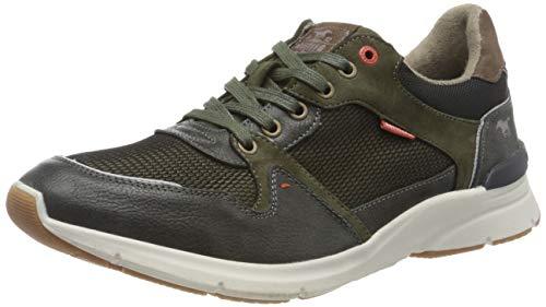 MUSTANG Herren 4156-302 Sneaker, 77 Oliv, 41 EU