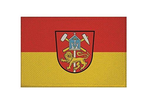 U24 Aufnäher Clausthal-Zellerfeld Fahne Flagge Aufbügler Patch 9 x 6 cm