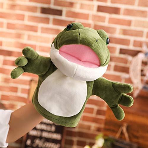 HOUMEL Tigre 301 - Marioneta de mano para niños y niñas, con guantes de peluche, 30 cm