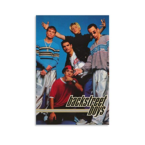 KGHJF Music Poster Band Backstreet Boys Poster Decorative Painting Canvas Wall Art Living Room Posters Bedroom Painting 08x12inch(20x30cm)