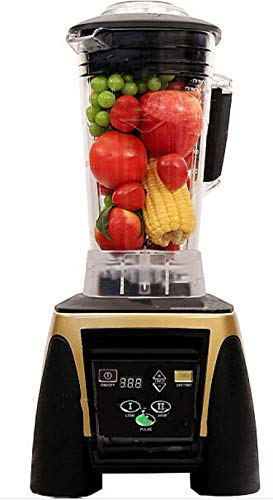 Find Cheap 45000RPM 2200W 2L Heavy Duty Digital Timer Blender Juicer Food Processor Mixer,Gold