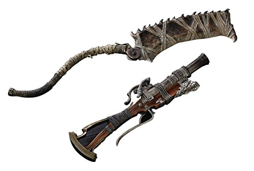 Gecco Bloodborne Hunter's Arsenal: Saw Cleaver and Hunter Blunderbuss 1:6 Scale Weapon Set