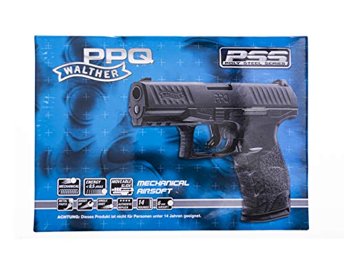 Walther PPQ, PPS, 0,5 joule, 6mm, Airsoft, Federdruckpistole