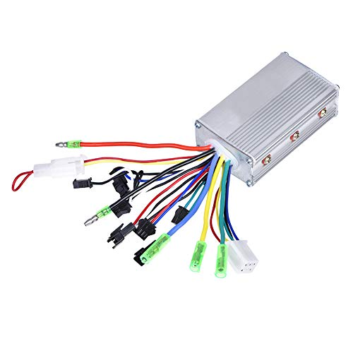Motor Brushless Controller,24V 250W Brushless Motor Controller,Electric Bicycle Scooter Brushless Controller,Aluminium Alloy Brushless Controller,for Electric Bicycle Scooter