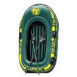 Terynbat Barco inflable inflable, barco de rafting al aire libre, barco inflable doble del PVC, barco de pesca engrosado, kayak inflable, barco doble grueso plegable resistente al desgaste