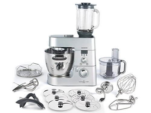Kenwood km086–Robot da Cucina (argento, Acciaio Inossidabile, Mix)