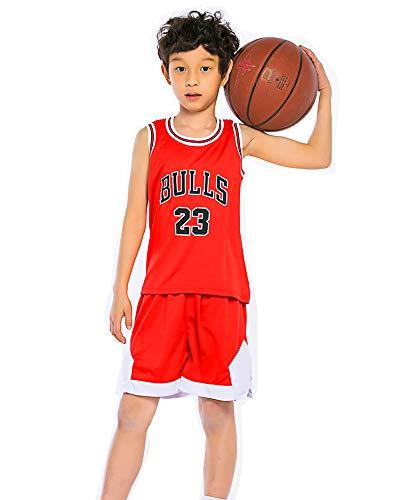 Hanbao Kinder Basketball Anzug NBA Michael Jordan # 23 Chicago Bulls Basketball Trikots Top & Shorts