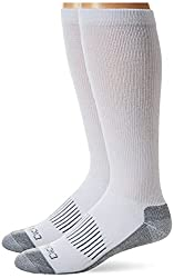 Dickies Men's Light Comfort Compression Over-The-Calf Socks