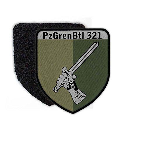 Copytec Patch PzGrenBtl 321 TARN Schwanewede Bundeswehr Abzeichen Wappen BW Klett #24654