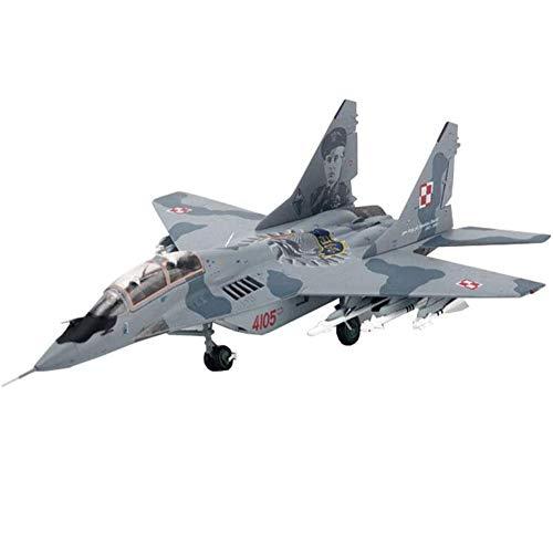 CMO Flugzeug Legierung Modelle, 1/72 Skala Mig 29UB Fighter Polnische Luftwaffe Modelle, Spielzeug und Geschenke für Erwachsene, 9,4 x 5,1 Zoll