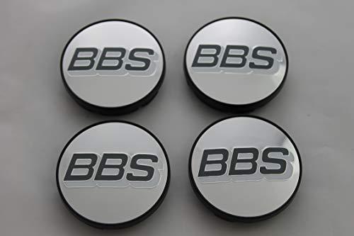 BBS Original Emblem Nabendeckel Silber Grau Nabenkappe Felgendeckel 56mm 4K