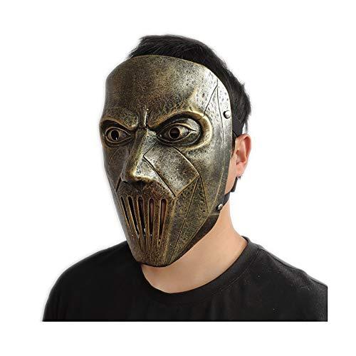 El Batería De La Banda Slipknot Mick Máscara del Partido Máscara De Resina Edición De Coleccionista De Halloween Prop,B