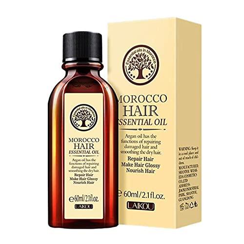 Ätherisches Haaröl, Multifunktionales ätherisches Haaröl, Natürliches Haarwuchsöl, Essenz Haarpflege, Marokkanische ätherische Öle, Ätherisches Haarpflegeöl